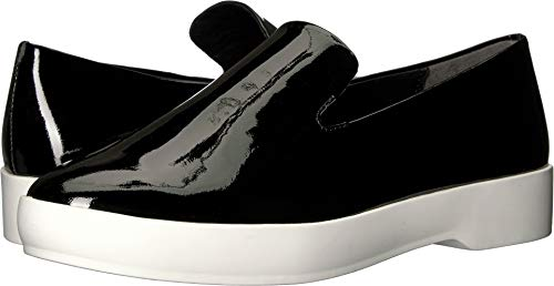 Donna Karan Women's Pia Slip-On Black Patent Leather 7.5 M US