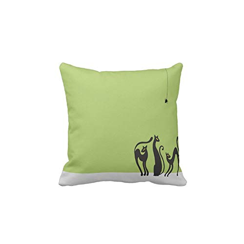 AoLian CYW Halloween Cats Slideshow Pillow case 18