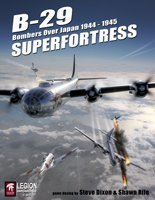 LEGION: B-29 Superfortress, Bombers Over Japan 1944-45, Solitaire Board Game, 2nd Edition (B 17 Queen Of The Skies Board Game)