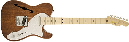 Squier by Fender Classic Vibe Telecaster Custom Beginner Electric Guitar - Natural