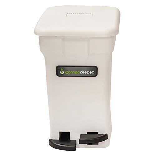 CompoKeeper CK-6GL-BIN-WH-S Kitchen Compost Bin $35.98