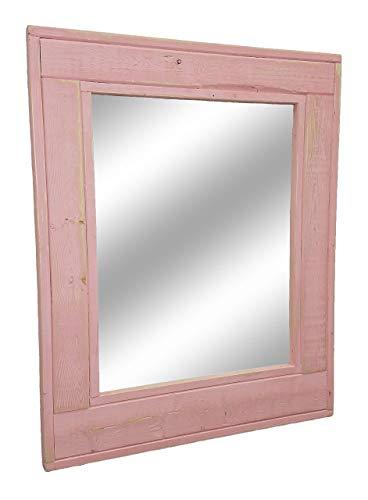 Amazoncom Herringbone Reclaimed Wood Framed Mirror Available In 4
