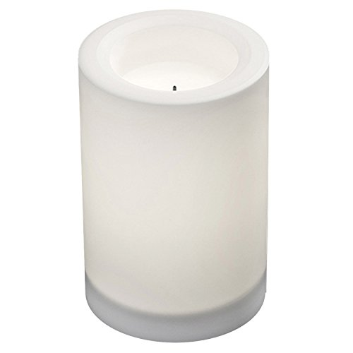 olar Color Changing Flameless Candle, 4-Inch by 6-Inch, (Solar Candle)