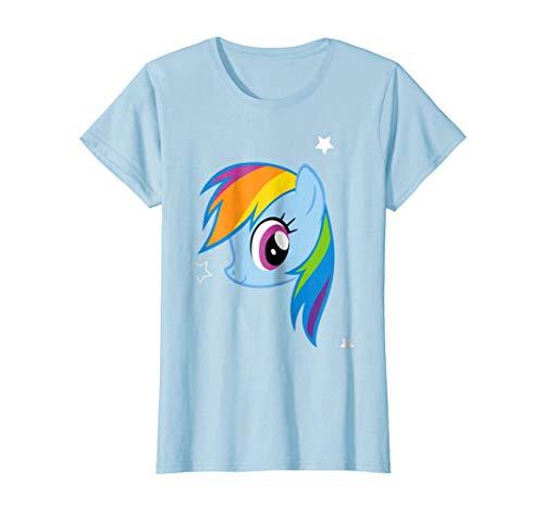 My Little Pony Large Rainbow Dash Profile Pose T-shirt]()