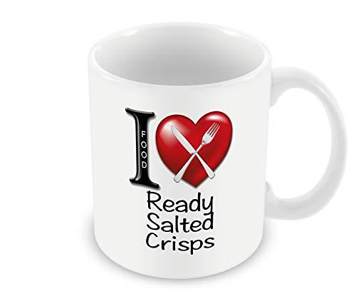 Chalkhill Printing Company CP 676 Food Mug-I Love Ready Salted Crisps