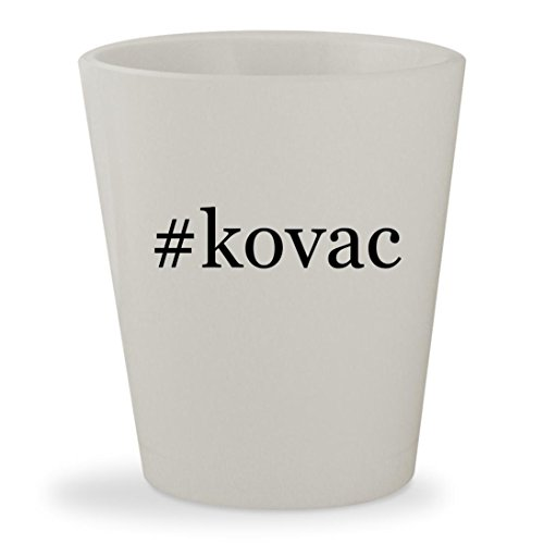 #kovac - White Hashtag Ceramic 1.5oz Shot (Charles Bathroom Vanity Light)