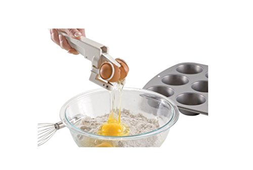 EZ Handheld Egg Cracker and Separator with BONUS EZ - Tx Austin The Hut
