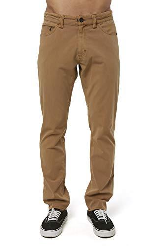 Slim Fit 5 Pocket Hybrid Pant (Cognac/Venture, 40)