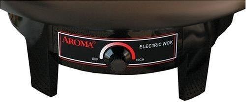 Aroma Housewares AEW-305 Electric Wok, Black Home Supply Maintenance Store