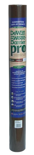 Dewitt Brown 3-Foot by 100-Foot 3oz Weed Barrier Pro Landscape Fabric PBN3100RF