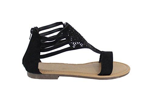 Mujer Shoes By Negro para Sandalias Stqwp68