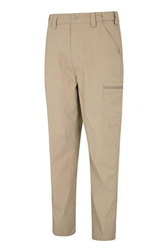 Hommes Longueur Beige Pantalon Pour De Voyager Extensible D'été Trek Stretch Foncé Mountain Élastique Facile Standard Léger À Empaqueter Warehouse qc1wYRxE
