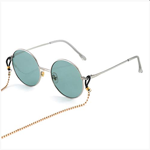 - Vintage Polarized Sunglasses for Women,BOLLH 100% UV Protection Fashion Round Sunglasses