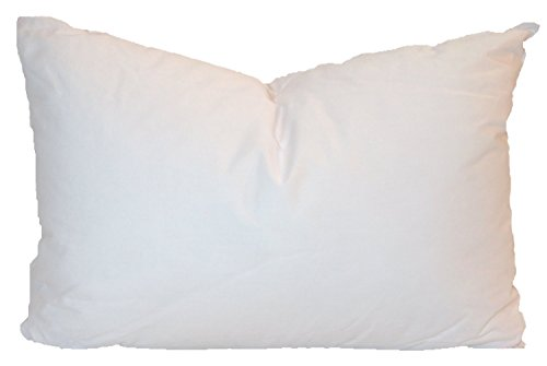 Price comparison product image Pillowflex Synthetic Down Pillow Inserts for Sham Aka Faux / Alternative (14 Inch by 22 Inch)
