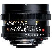 "Leica Wide Angle 24mm f/2.8 ""3 CAM"" Elmarit R Manual Focus Lens"