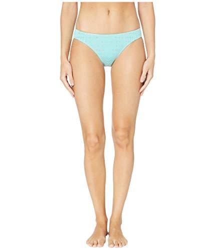 LAUREN RALPH LAUREN Women's Seersucker Stripe Hipster Bottoms Aquamarine 6