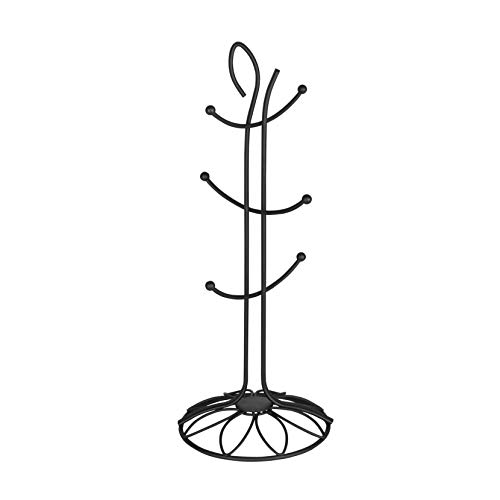 Spectrum Diversified Leaf Mug Holder, Black (Espresso Tree Mug)