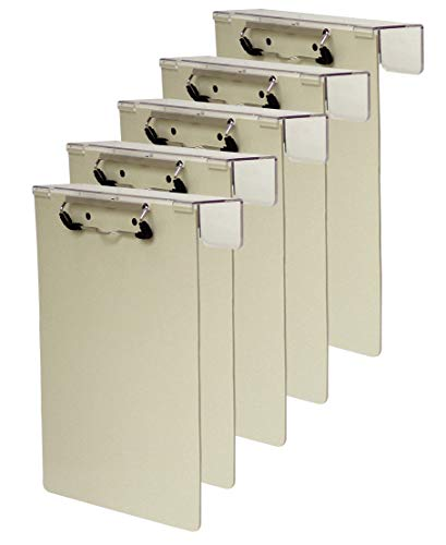 (Omnimed 203913-5BG Over-The-Bed Poly Clipboard in Beige (Pack of 5))