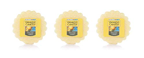 Yankee Candles Set of 3 Sicilian Lemon Tarts Wax Melts ... (Yankee Candle Tarts Set)