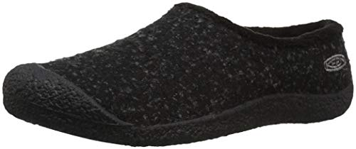 Picture of KEEN Women's Howser Slide Wool Clog, Black knobby/Steel Grey, 10 M US