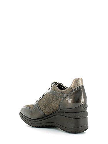Calzado deportivo para mujer, color marr�n , marca GEOX, modelo Calzado Deportivo Para Mujer GEOX DONNA REGINA Marr�n marr�n