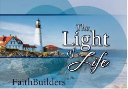 - Christian Art Gifts Faithbuilder Cards-The Light of Life (Pack of 20)