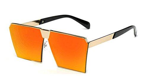 GAMT Polarized Mirrored Square Designer Sunglasses for Women Driving UV400 - Replica Sunglasses Luxury