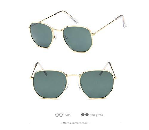 F Metal Vendimia Hombres Espejo UV400 del Las Gafas Aprigy de de de de Gafas Retro Sol de Gafas los Lujo la de vidrios Sol Señora los Sol F del de g1ZwqYqC