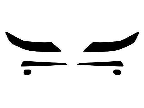 Rvinyl Rtint Headlight Tint Covers for Acura TL 2009-2014 - Smoke