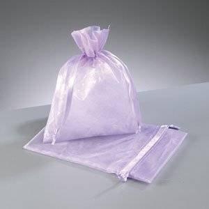 20 bolsas de organza grandes, color lila (24 x 30 cm ...