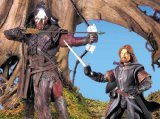 LORD OF THE RINGS- THE FELLOWSHIP OF THE RING BOROMIR AND LURTZ (Boromir Lord Of The Rings)