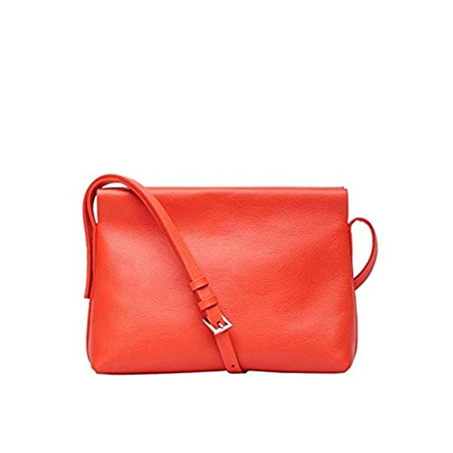 Bag Handbag Mini Red Cross Soft Yellow Light Small Frosted Leather Body Women's Bag Shoulder Ladies or nq67xYcx