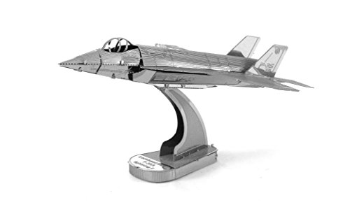 Fascinations Metal Earth F-35A Lightning II Airplane 3D Metal Model Kit