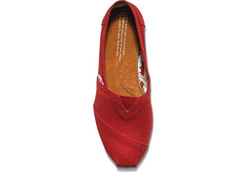 Tom Classico Tela Rossa 001001b07 Donna, 6,5 B (m) Noi