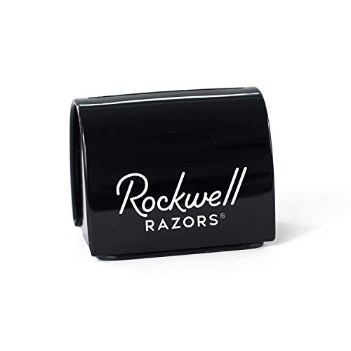 - Rockwell Razors Blade Bank - Safety Razor Blade Disposal Case, Recyclable, Black