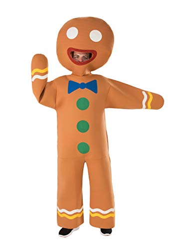Gingerbread Man Costumes For Adults - Rubie's unisex-adult's Gingerbread Man Costume, As Shown,