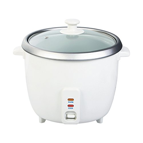 Wee's Beyond 5280-03 Electric Rice Cooker, 3 Cup, White