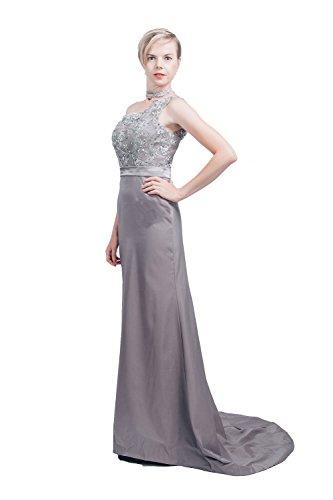 - Saint Toi Trumpet/Mermaid One-Shoulder Sweep Train Tulle Evening Dress LSCS-0016B