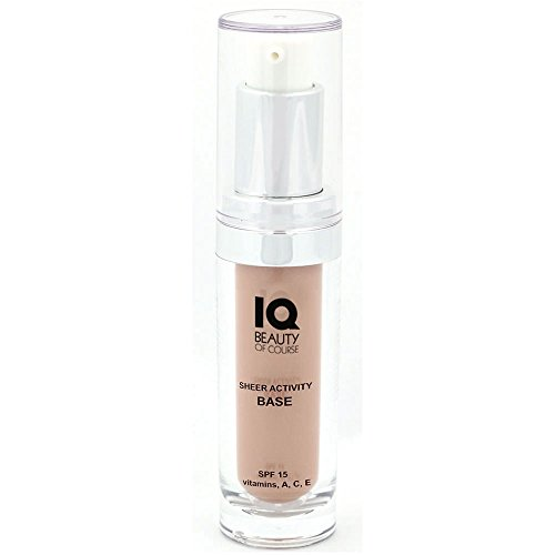 Sheer Tint Base (IQ Beauty Tinted Moisturizer Sheer Activity Base SPF 15-0.5oz)
