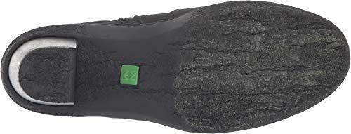 Lichen Black Noir Talon Femme Chaussures Cheville Naturalist 5171 Zip noir El Pleasant E1wnBPOHnq
