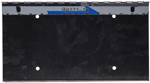 Roadworks 10171 Stainless Steel Universal Hinged License Plate Holder