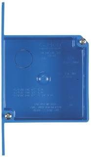 Carlon Shallow Outlet Box 20 0 Cu In Pvc 2 Gang Bulk Electrical Outlet Boxes Amazon Com
