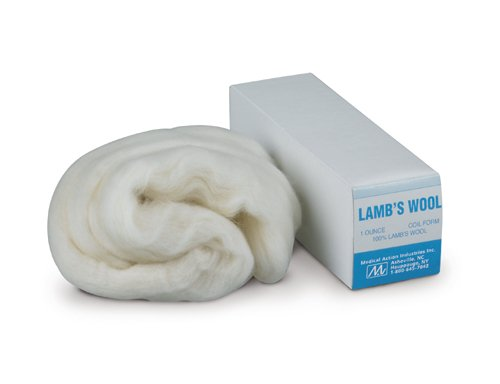 Owens   Minor Inc Comfort And Padding Lambs Wool  Form  180  4 Oz  12 Each Per Case