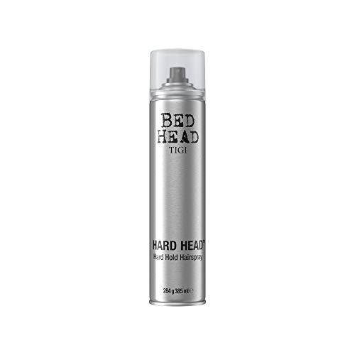 TIGI Bed Hard Head Extra Strong Hold Hair Spray, 10.6 Ounce (Head Straight Bed Extreme)