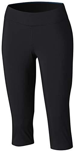 Columbia Women's Back Beauty Capri, Black, Large (Best Pair Of Lululemon Pants)