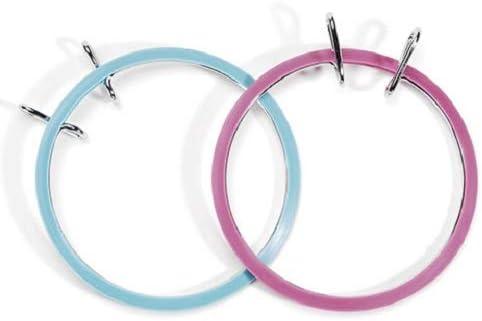 Color may Vary Darice 3-1//2 39222 Spring Tension Hoop