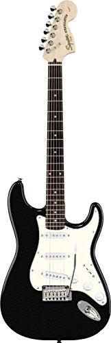 Squier Standard Stratocaster Rosewood, Black Metallic