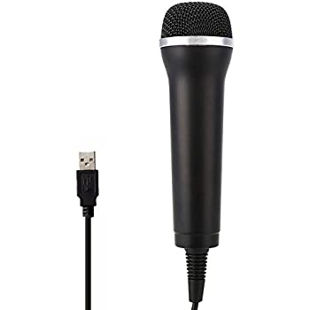 jadebones usb universal karaoke mic microphone for ps3 wii xbox360 ps4 xbox one pc. Black Bedroom Furniture Sets. Home Design Ideas