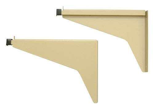Adir Corp. Drop - Lift Wall Rack for Blueprints - Plans, Sand Beige with 12 36'' File Hanging Clamps by Adir Corp. (Image #3)