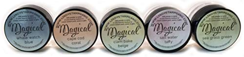 Lindy's Stamp Gang Magical Jar Set, 0.25-Ounce, Nantucket Pearls, 5 Per Package